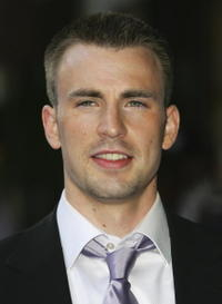 Chris Evans at the London premiere of