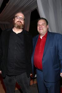 Brian Posehn and Jeff Garlin at the Comedy Central Roast Of Bob Saget.