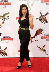 America Ferrera at the California premiere of