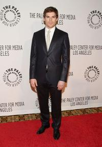 Michael C. Hall at the Paley Center for Media's Annual Los Angeles gala.