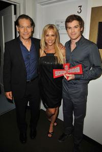 James Remar, Julie Benz and Michael C. Hall at the Spike TV's 2008 Scream Awards.