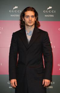 Henry Cavill at the Gucci Grand Prix, International Jumping Competition.