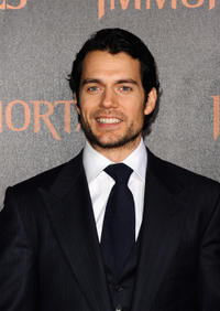 Henry Cavill at the world premiere of