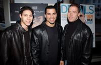 Leo Minaya, Franky G. and Eric Eason at the special screening of