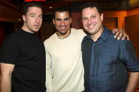Director Eric Eason, Franky G. and Larry Meistrich at the New York premiere of