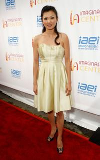 Michelle Krusiec at the ImaginAsian Center opening.