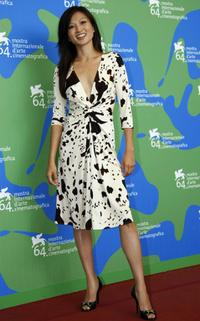 Michelle Krusiec at the photocall of