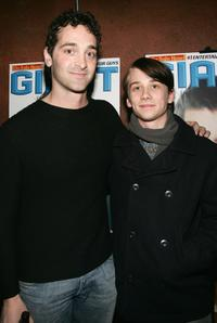 Scott Cohen and Lou Taylor Pucci at the Sundance party of