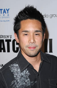 Parry Shen at the Los Angeles premiere of