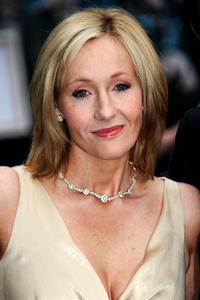 J.K. Rowling at the UK premiere of