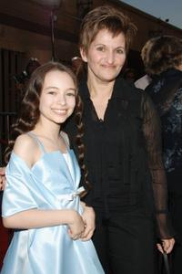 Jodelle Ferland and Valerie Ferland at the premiere of
