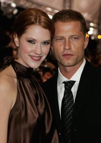 Lauren Lee Smith and Til Schweiger at the 34th annual German Film Ball.