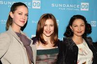 Lauren Lee Smith, Alexia Fast and Ashley Judd at the screening of