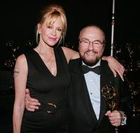 Melanie Griffith and James Lipton at the 34th Annual Daytime Creative Arts & Entertainment Emmy Awards.