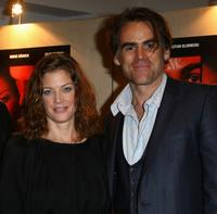 Marie Baeumer and Sebastian Blomberg at the premiere of