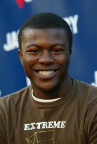 Edwin Hodge at the Rock The Vote event.
