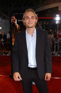 Joey Kern at the world premiere of