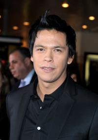 Chaske Spencer at the Los Angeles premiere of
