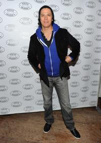 Chaske Spencer at the Steven by Steve Madden event.