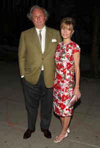 Graydon Carter and Anna Scott Carter at the Vanity Fair party during the 2009 Tribeca Film Festival.