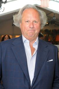 Graydon Carter at the Mercedes-Benz Fashion Week.