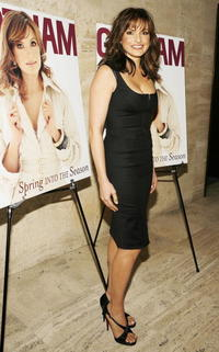 Mariska Hargitay at the celebration of Gotham Magazine's March Issue.