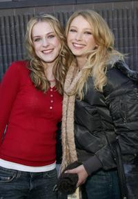 Evan Rachel Wood and Elisabeth Harnois at the premiere of