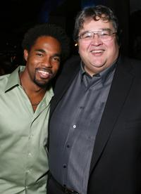 Jason Winston George and Richard Pimentel at the after party of