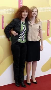 Sabine Azema and Isabelle Carre at the 63rd Venice Film Festival, attends the photocall for