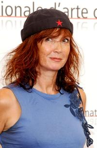 Sabine Azema at the 62nd Venice Film Festival, attends the photocall for the film