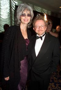 Emmylou Harris and Paul Williams at the Songwriters Hall of Fame 32nd Annual Awards.