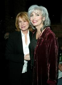 Mary Kay Place and Emmylou Harris at the after party of the premiere of