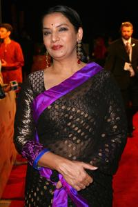 Shabana Azmi at the 4th Dubai International Film Festival, attend the premiere for