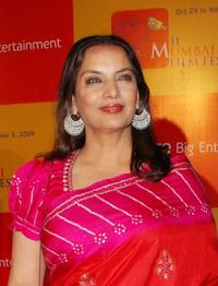 Shabana Azmi at the closing event of the 11th Mumbai Film Festival.