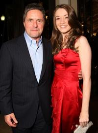 Brad Grey and Sarah Bolger at the Los Angeles premiere of