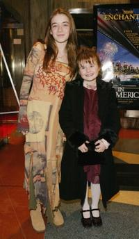 Sarah Bolger and Emma Bolger at the New York premiere of