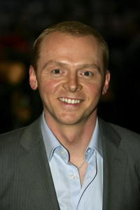 """Simon Pegg at the UK Premiere of """"Mission: Impossible 3"""" in London, England."""