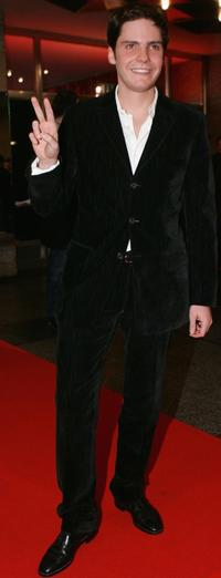 Daniel Bruhl at the premiere of