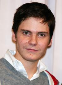 Daniel Bruhl at the press conference to promote