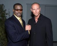 Wesley Snipes and Luke Goss at the premiere of