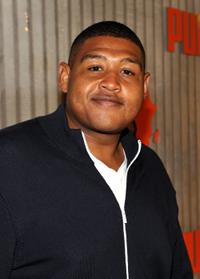Omar Benson Miller at the African Bazaar presented by Puma.