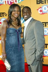 Shar Jackson and Kevin Hart at the 2005 BET Comedy Icon Awards.
