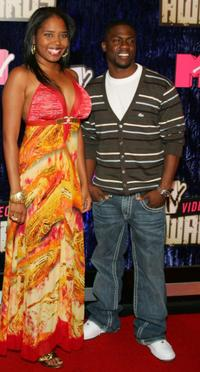 Shar Jackson and Kevin Hart at the 2007 MTV Video Music Awards.