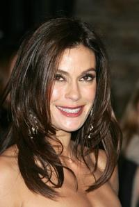 Teri Hatcher at the Vanity Fair Oscar Party.