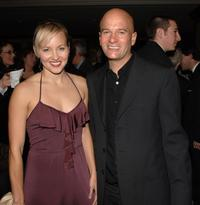Amy Hathaway and Anthony Hines at the Writers Guild of America Awards, West Awards.