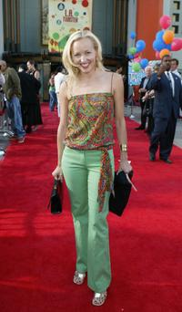 Amy Hathaway at the world premiere of
