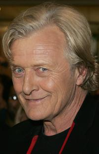 Rutger Hauer at the launch of