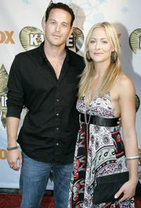 Cole Hauser and Cynthia Daniels at the premiere of