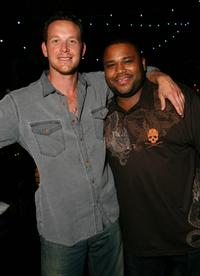 Cole Hauser and Anthony Anderson at the after party of