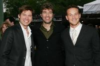 Nikolai Coster Waldau, Craig Bierko and Cole Hauser at the Fox Network 2007 Programming Presentation.